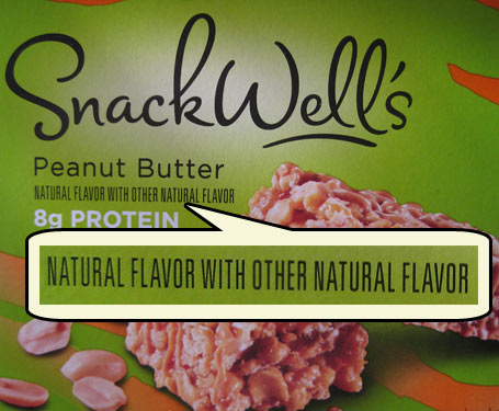 Natural flavor with other natural flavor